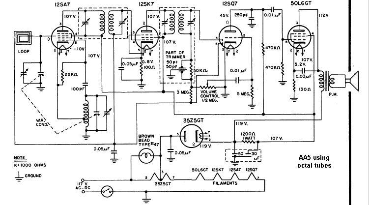 wa2ise's Home Page of Radios on vacuum tube schematic diagram, vacuum cleaner wiring diagram, vacuum pump wiring diagram, vacuum tube heater diagram, t8 tube wiring diagram,
