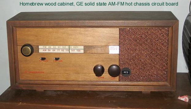 Antique Radio Forums • View topic - Older solid state AM-FM GE radio